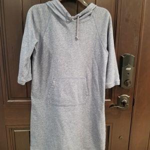 UNIQLO Women's Sweater Dress Hooded Long Sleeve
